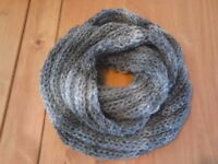 Shawl in grey homemade £10.00