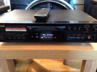 Pioneer minidisc recorder mj-d508