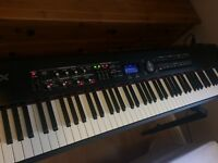 ROLAND RD 700GX Stage piano and accessories