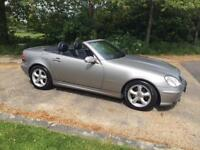 MERCEDES 2.3 SLK 2003 AUTOMATIC 110K MILES LONG MOT DRIVES LOVELY