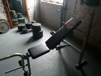Pro power weight lifting bench