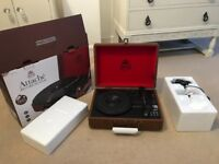 Record Player - GPO - Portable - Unwanted Xmas Present - Free USB -