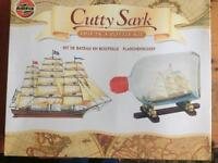 Airfix Cutty Sark ship in a bottle kit complete
