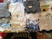 Baby boys clothes 0 to 3 month excellent condition