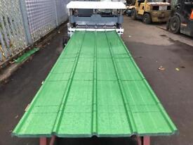 Galvanised Metal Roofing Sheets £5.80/meter