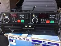 Denon DN-1800F CD decks