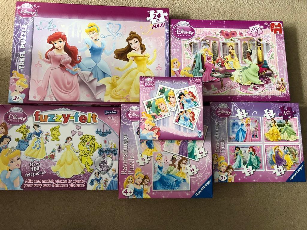 Disney princess puzzles | in Musselburgh, East Lothian | Gumtree