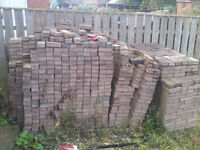 Block paviors for sale approx 3300