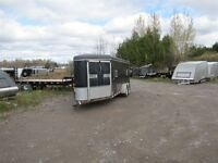 2000 United 6'x21' USED SLED TRAILER - *AS-IS*