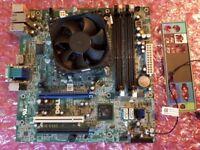Dell Optiplex 790 Motherboard E93839 KA0121 + Intel Sandybridge i5-2400 Quad-Core Processor