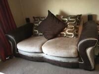 2 seater and love seat
