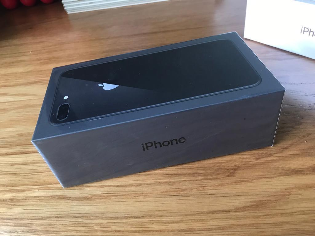 APPLE IPHONE 8 PLUS SPACE GREY 64GB BOXED SEALED FACTORY UNLOCKED BLACKBURN PICKUP ONLY