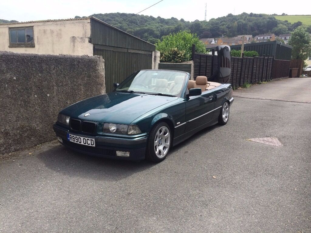 bmw e36 318i convertible hardtop coilovers long mot in plymouth devon gumtree. Black Bedroom Furniture Sets. Home Design Ideas