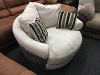 New / Ex Display Love, Cuddle, Swivel Chair