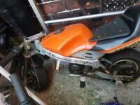 Minimoto 50cc not pit bike 125cc