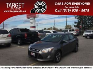 2012 Ford Focus SE Low Kms Only 59k, Bluetooth, Loaded !!