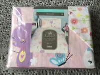 Girl single bed set (duvet cover and pillowcase)