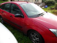 Ford Focus Zetec TDDI. 2001