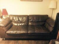 Exclusive DFS Italian Leather Sofa