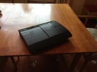 Used Sony PlayStation 3 Super Slim, 500GB, Charcoal Black For Sale