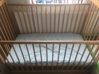 New cot with matress