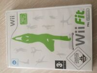 WII FIT game only, with box. (requires a WII board)