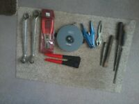 Tools - Pro Circlip Pliers, Rabone tape measure etc
