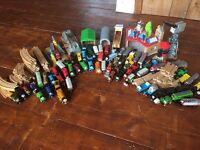 Huge selection of wooden Thomas the Tank engine trains, track and accessories