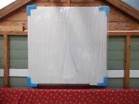 White upvc flat panel