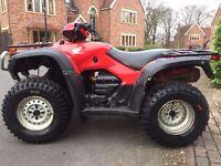 HONDA TRX 500 FOREMAN 4x4 QUAD ATV 420 450 350 POLARIS SPORTSMAN Grizzly 700