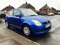 2007 Suzuki Swift 5dr, full service history