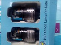 Pair of Xenon lights brand new