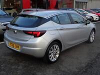 Vauxhall Astra DESIGN (silver) 2016-01-31