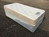 Single Bed And Luxury Thick Mattress, Nice Clean Condition, Free Delivery In Norwich,