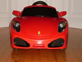 Ferrari F430 electric sit in car (very clean, for inside or outside use).