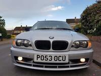 BMW E46 320 ci 170bhp •• 2003 •• 120k Miles ••SERVICE HISTORY
