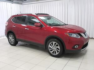 2014 Nissan Rogue SL AWD LEATHER, NAV, SUNROOF AND ONLY 35K!!
