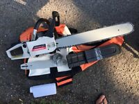 "NEILSEN 20"" 53cc Petrol Chainsaw, Includes Additional 12"" Chain Bar and Chain"