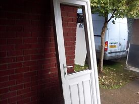 upvc back door very useful