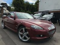 Mazda RX-8 1.3 Evolve 6 Speed Manual 3 Months Warranty 4 New Tyres Low Mileage