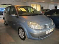 2005 05 RENAULT GRAND SENIC 1.6 DYN-IQUE 7 SEATER LOW 62K STOW AWAY SEATS FULL MOT 2 OWNERS PX SWAP