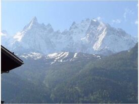 Lovely Chamonix city center apartment to rent, Try the alps in Summer and Autumn absolutely magical
