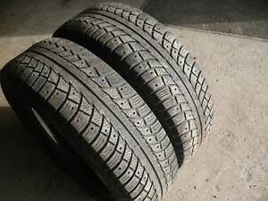 Two 225-65-17 snow tires    $100.00