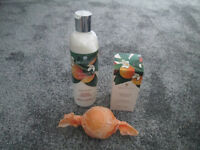 BRAND NEW BRONNLEY ORANGE & JASMINE BODY LOTION, 100ML SPRAY AND SOAP - IDEAL PRESENT