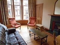 Spacious two bedroom tenement apartment to rent in west end