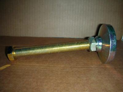 Iec Swivel Leveling Mount 3 Dia 34-10 Stud X 7-58 L 7200 Rated Gold-zinc Usa