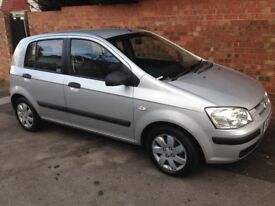 HYUNDAI GETZ GSi 1.3L, 2004 REG, FULL MOT, ONLY 50,000 MILES WITH FULL SERVICE HISTORY & HPi CLEAR