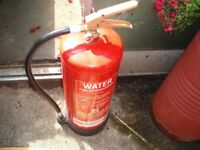 Water Fire Extingusher (for Wood, Paper and Textiles)
