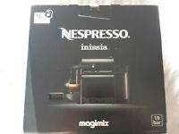 Magimix Nespresso Inissia Coffee Machine (Cream) NEW