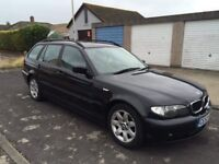 Bmw 320d touring estate 2.0 diesel manual ideal for parts export etc not e36 saloon 330d vw tdi